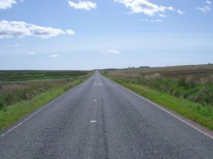Like a road leading to nowhere, help for Alzheimer's research is like a long road leading nowhere.
